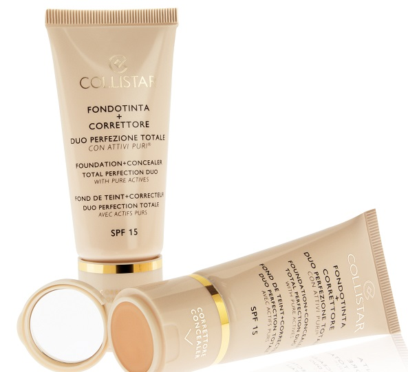TOTAL PERFECTION DUO foundation + concealer OPEN